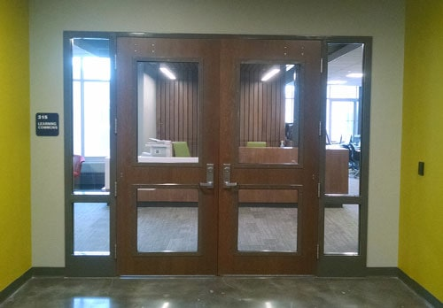 Commercial doors architectural openings access entry for Commercial exterior doors