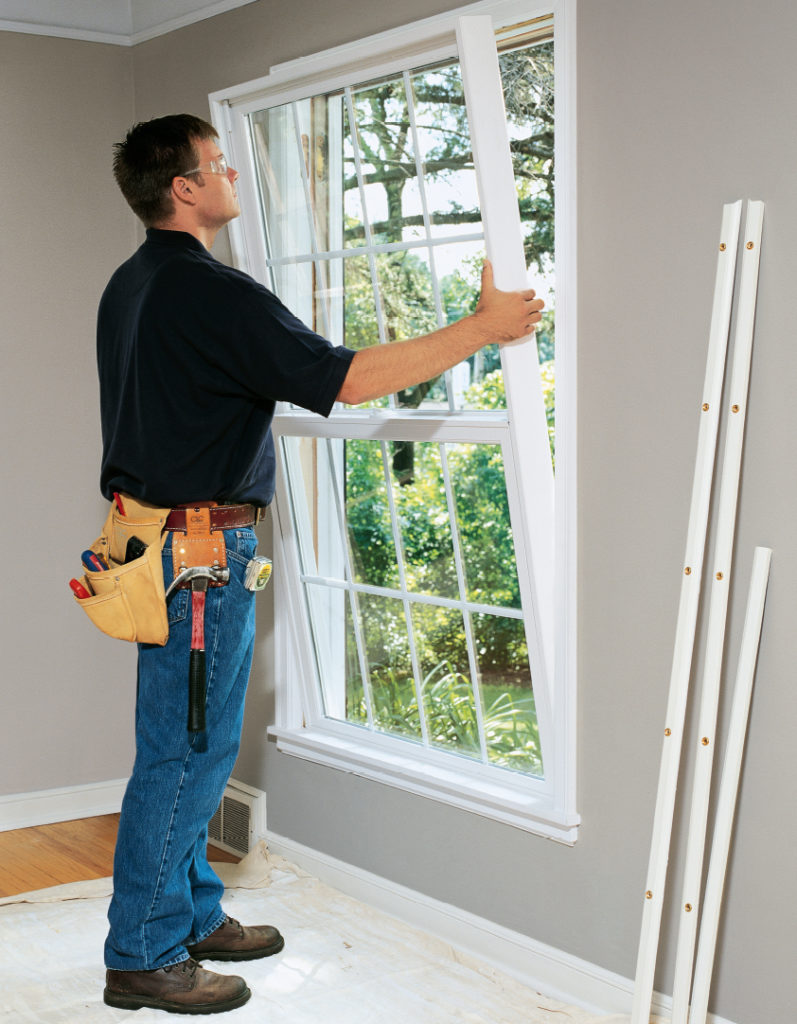 Replace These Old Windows With Energy Efficient Double Pane Gl Units Insulation Or Install A Fibergl Door For Year Round