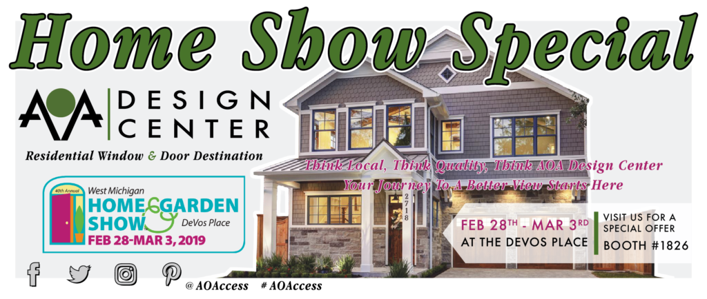 aoa design center home show special